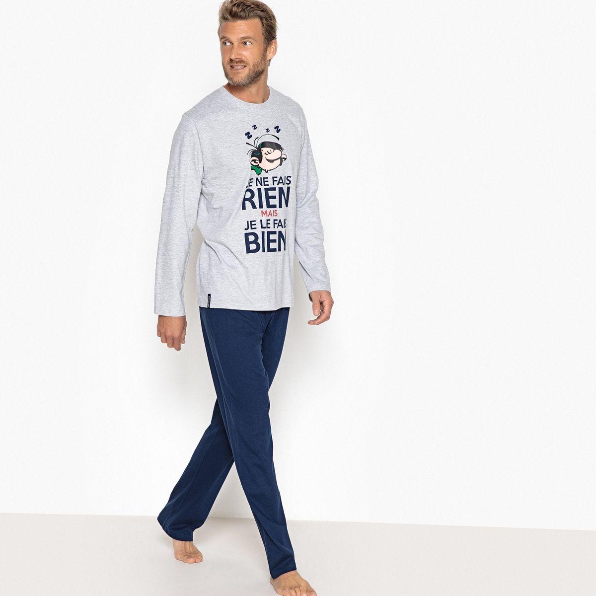 Pyjama 2 pièces, manches longues Gaston Lagaffe