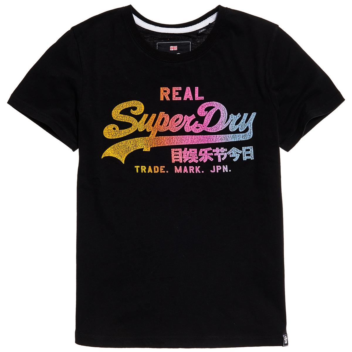 Imagen principal de producto de Camiseta con estampdo delante Vintage Logo Spectrum - Superdry