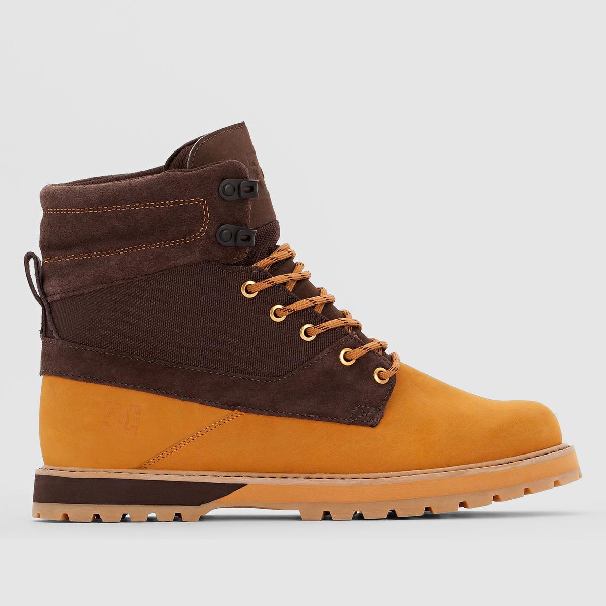Ботинки DC SHOES UNCAS M BOOT WD4Преимущества : ботинки от DC SHOES с оригинальным дизайном, сочетающем ткань и замшевую кожу в аутентичном и очень модном стиле .<br><br>Цвет: каштановый / бежевый<br>Размер: 40