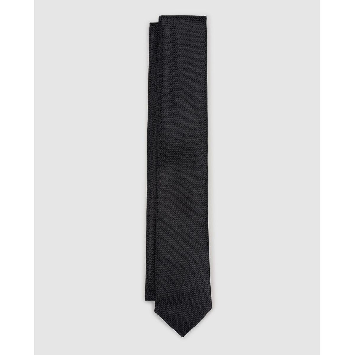 Cravate en polyester unie