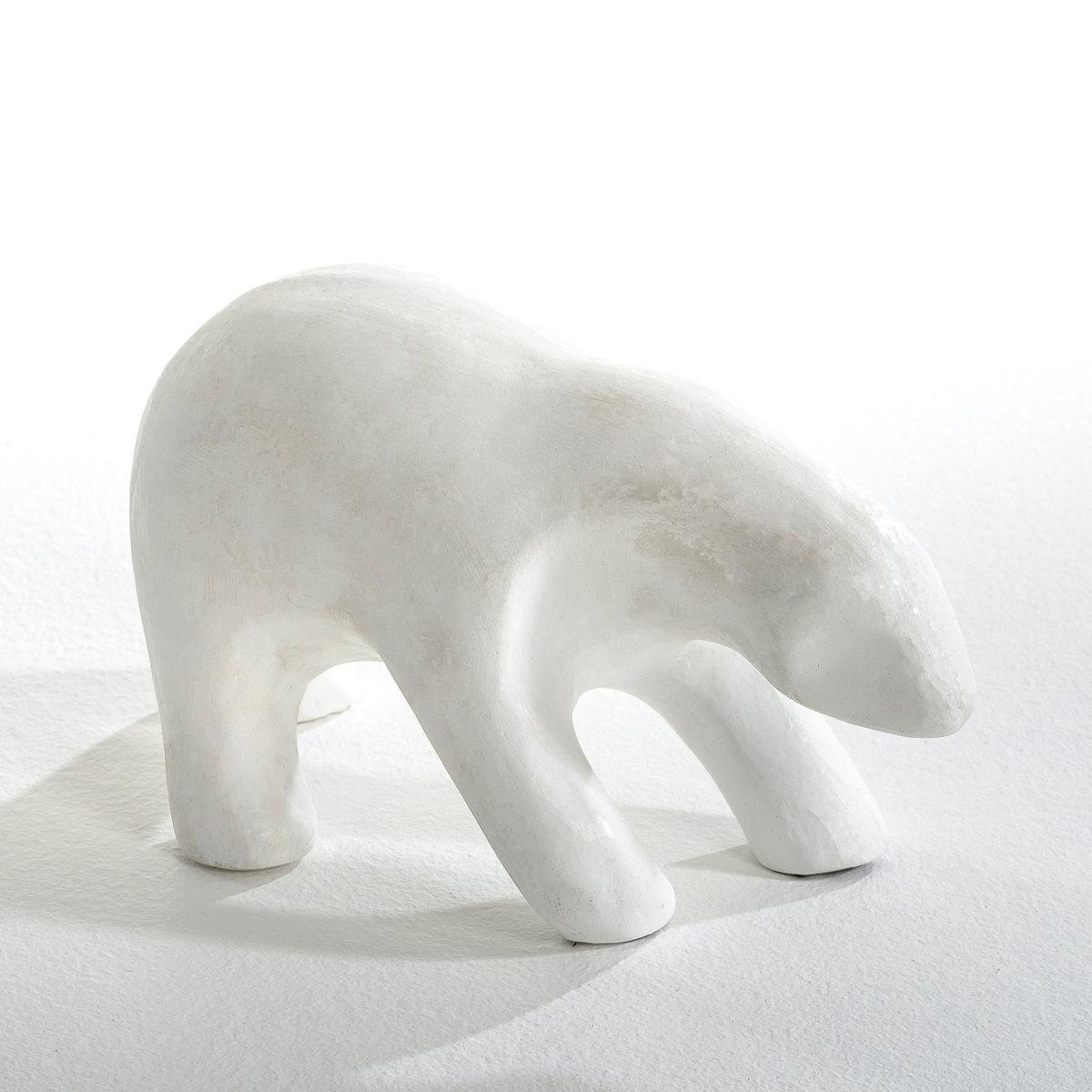 Медведь керамический NestorПолярный медведь из керамики. Идеально дополнит интерьер. Размеры: Длина ок. 25 см x шир. 11см x Выс. 14 см.<br><br>Цвет: белый