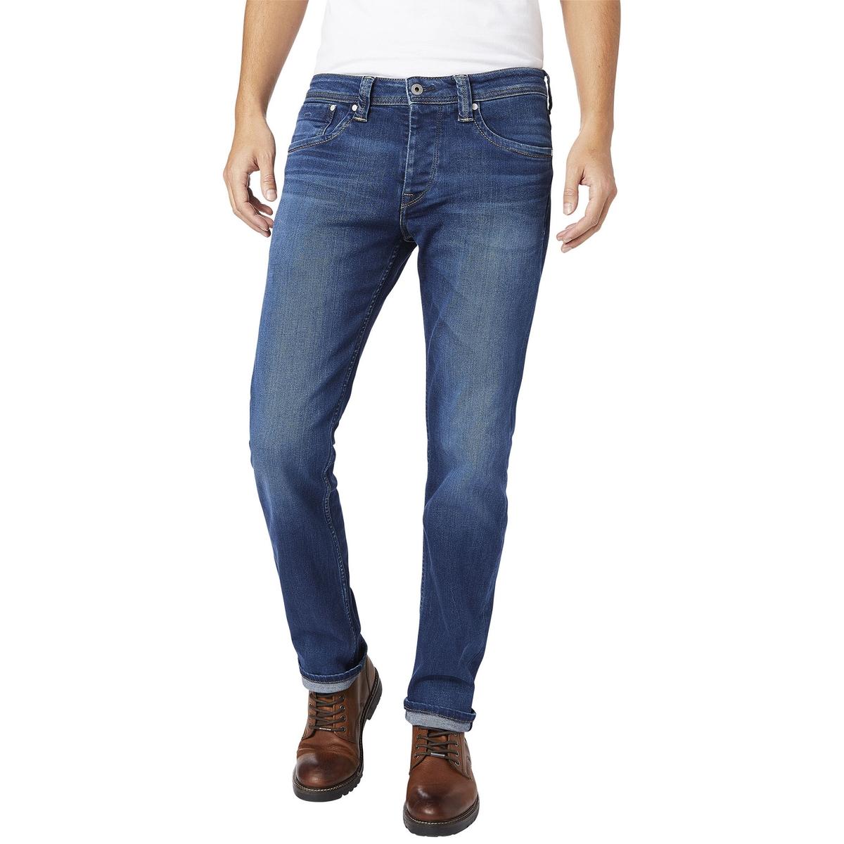Jeans regular, corte direito, CASH