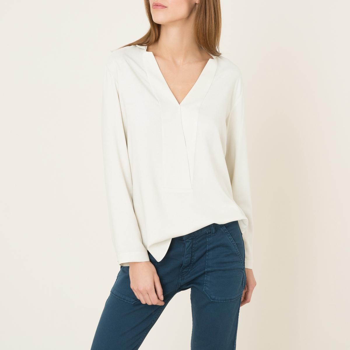 Блузка из струящейся ткани футболка mango mango ma002ewaqxx0