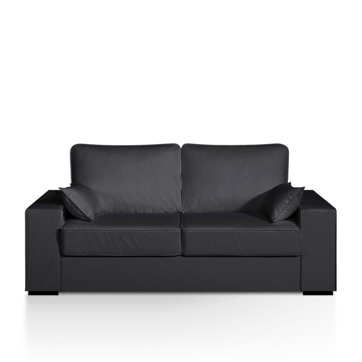 Canapé lit, simili, matelas bultex, Cécilia