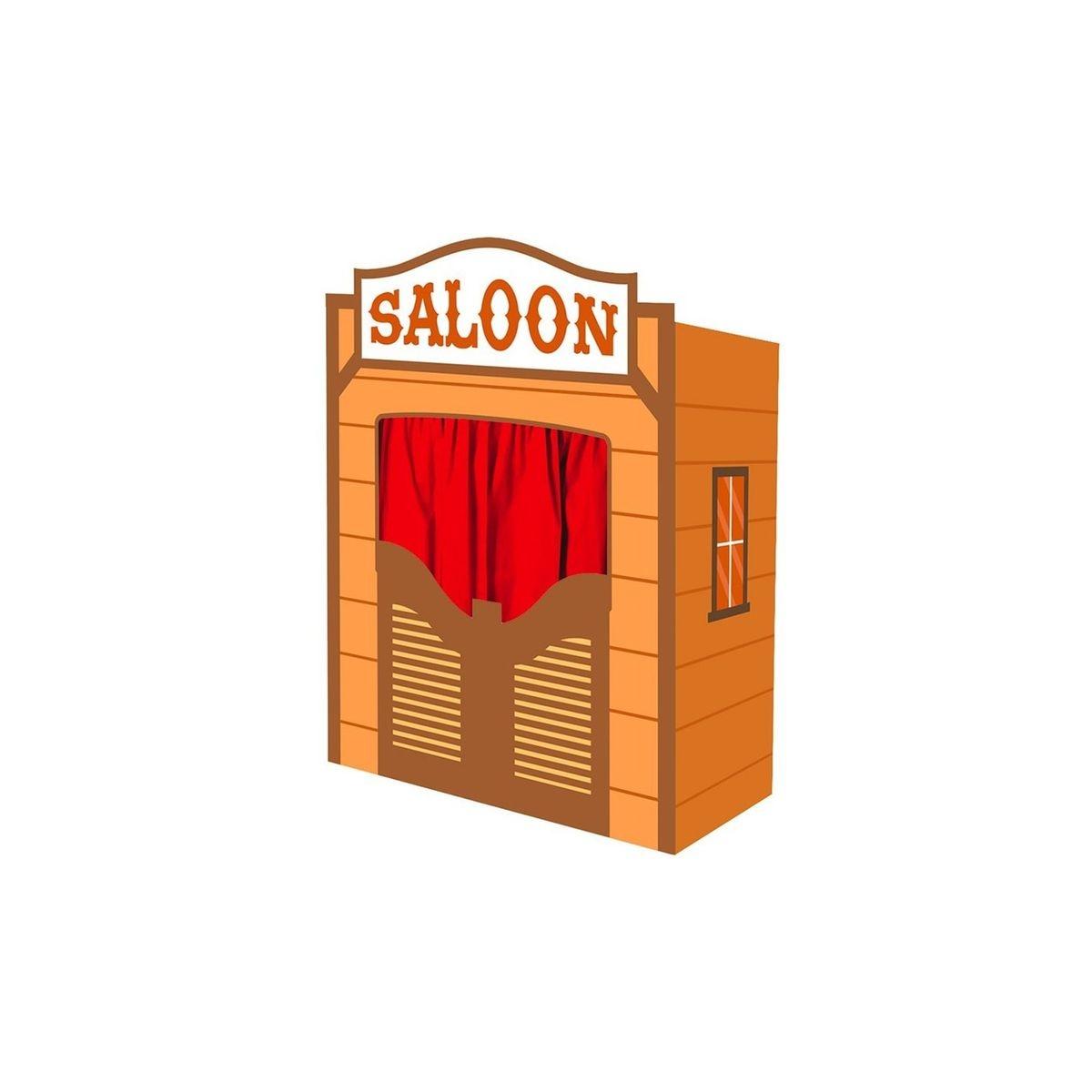 Théâtre de Marionnettes : Saloon