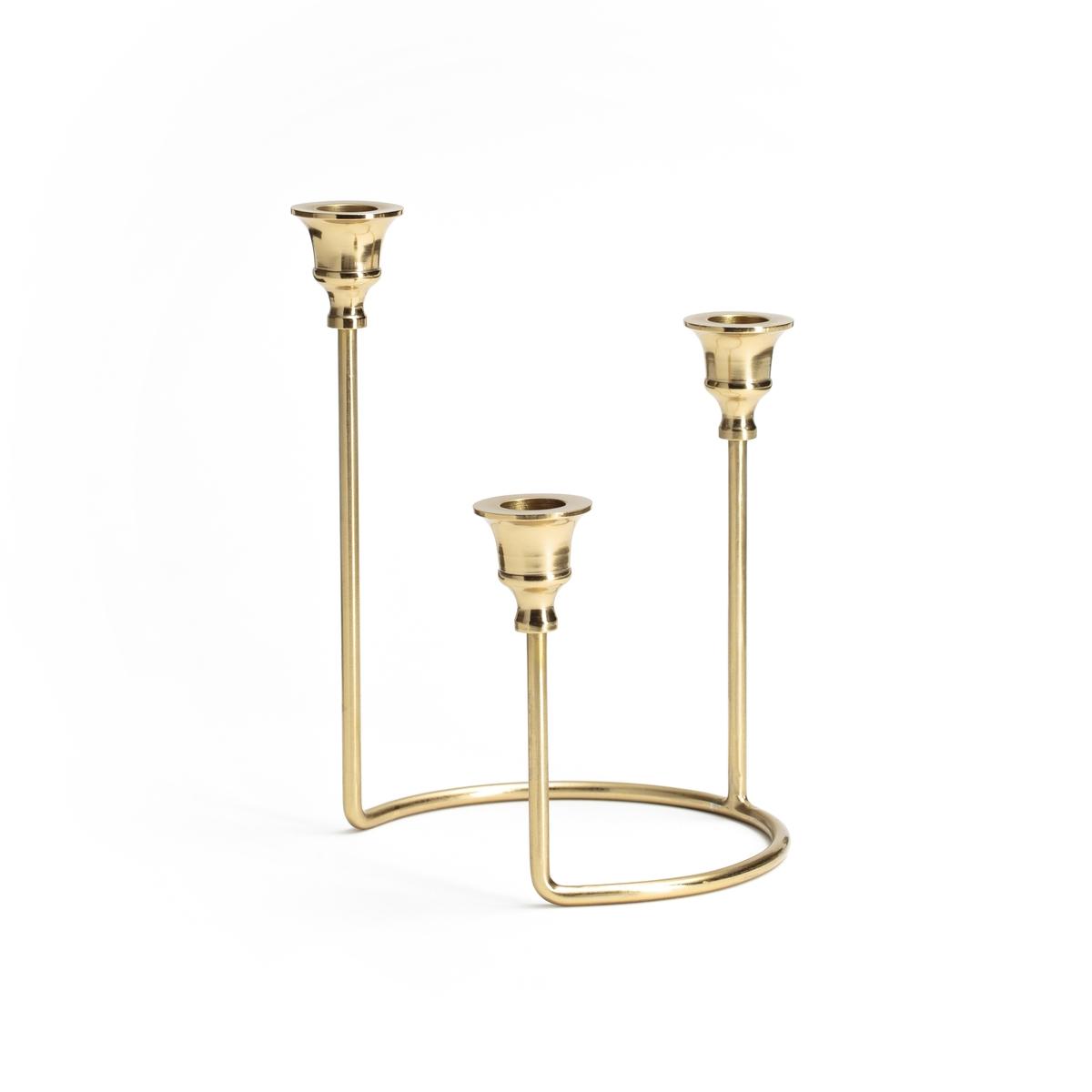Подсвечник для 3 свечей BIJAR декоративные свечи ганг подсвечник madeleine 8х15х17 см