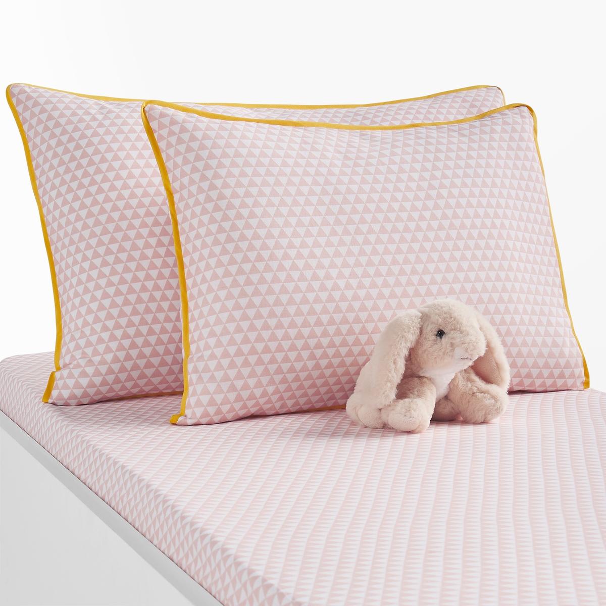 Наволочка La Redoute Детская из хлопка Scandinave 35 x 45 см розовый наволочка детская из хлопка melusine