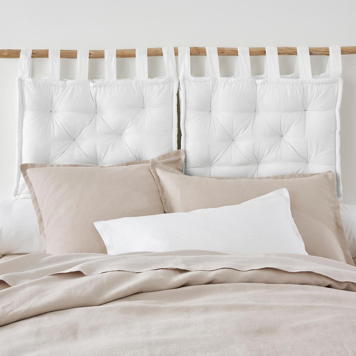 Подушка La Redoute Для изголовья кровати 50 x 70 см белый подушка набивная для изголовья кровати aeri