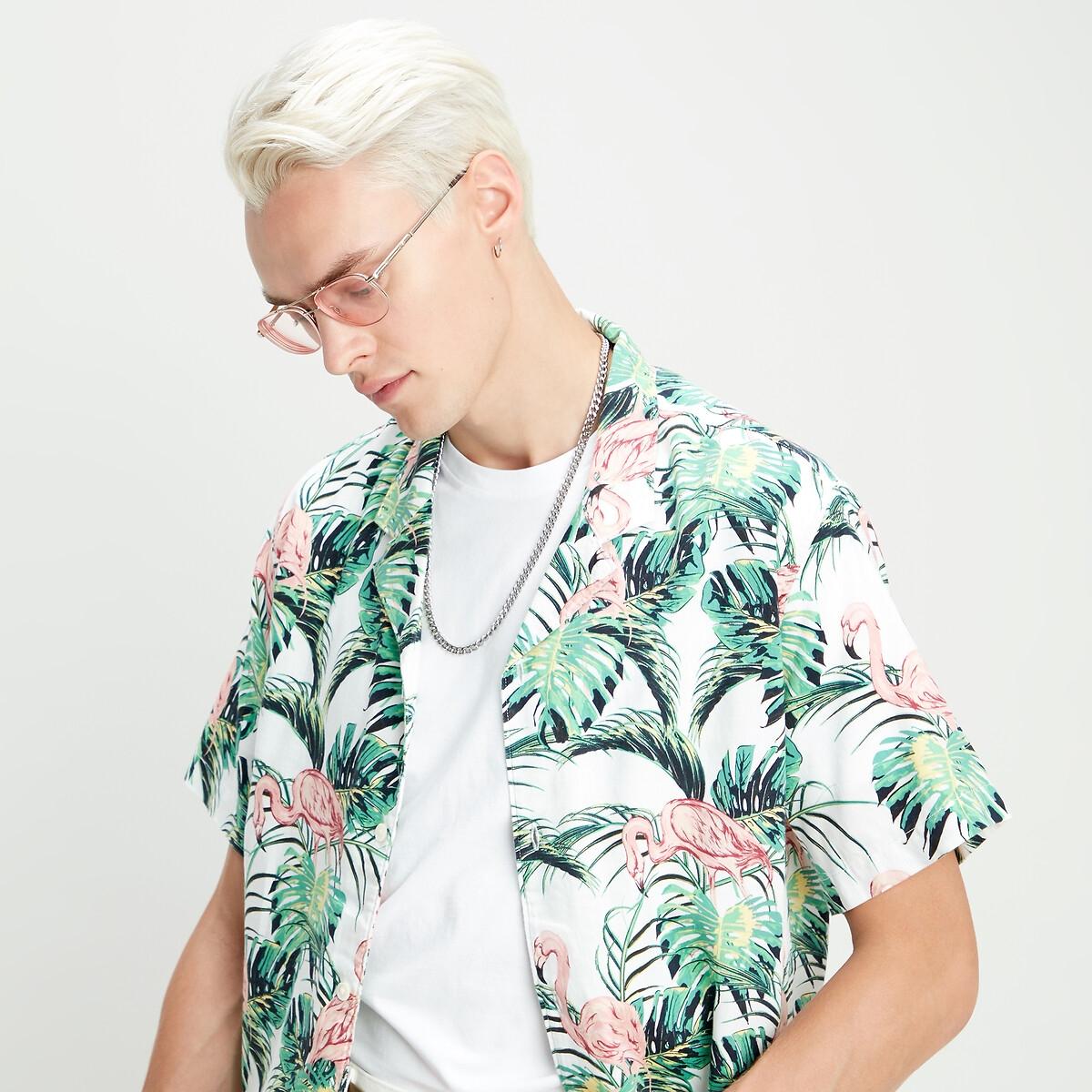Image of Cubano Botanical Print Shirt