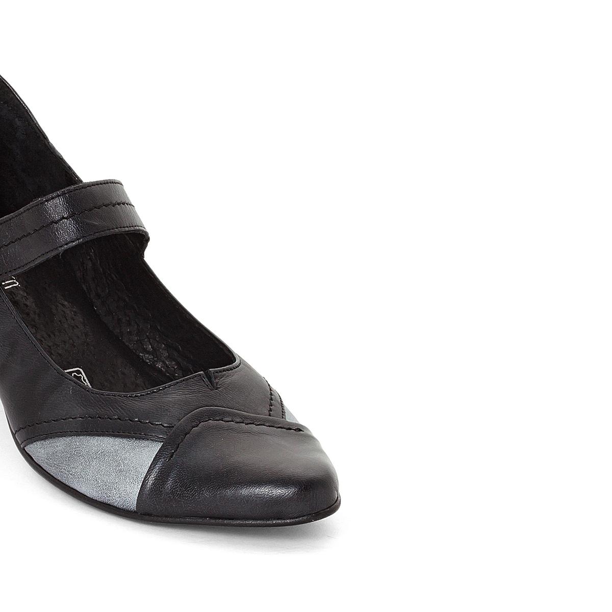 Imagen secundaria de producto de Zapatos de tacón de piel bicolor - Anne weyburn