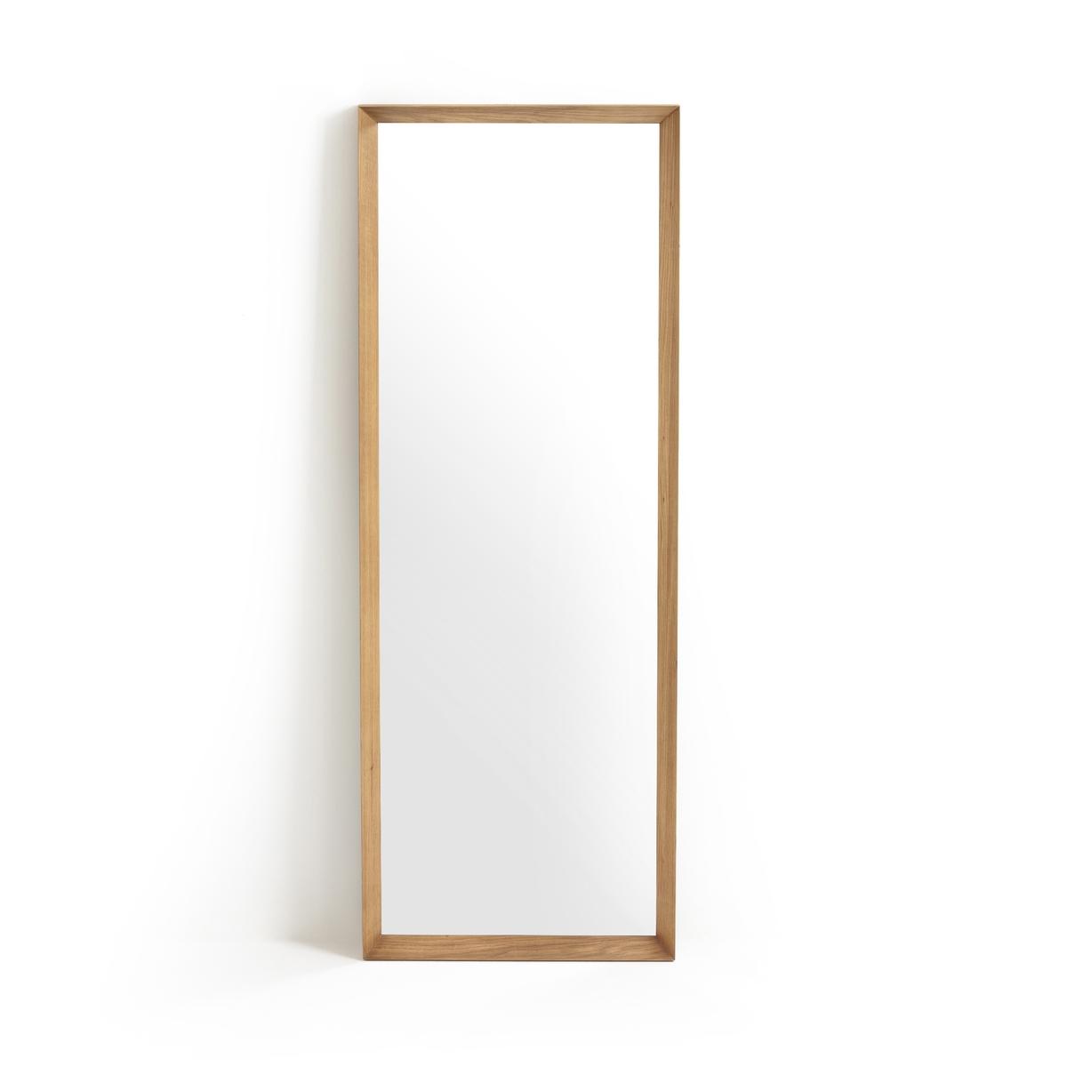 Зеркало LaRedoute В158 см Andromde единый размер каштановый