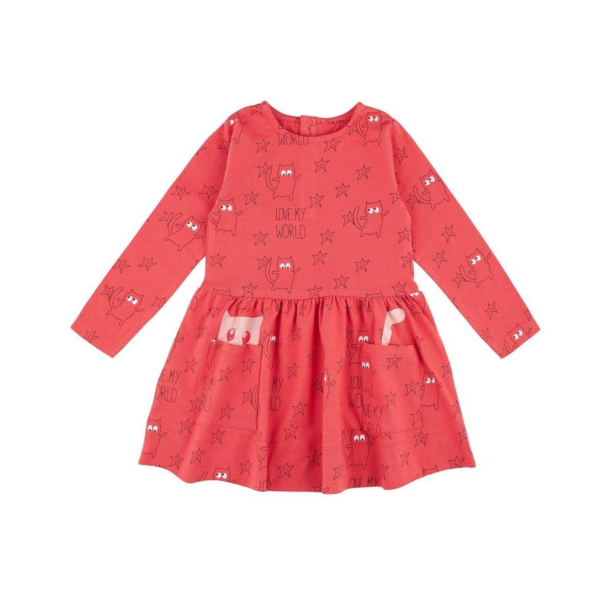 Robe enfant love Coton Bio