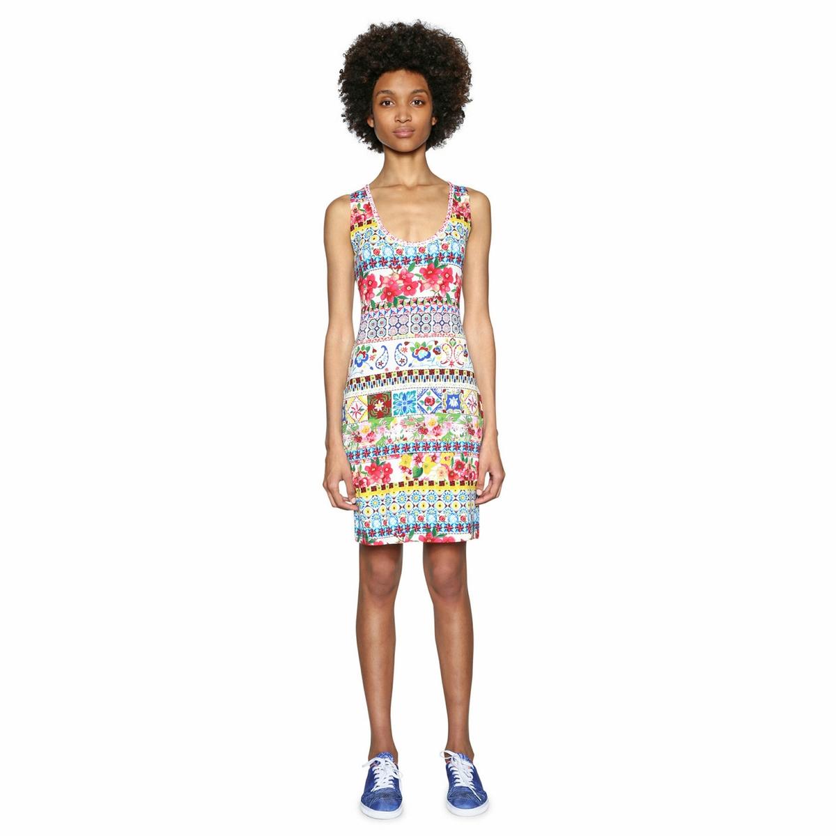 Платье облегающее с круглым вырезом, без рукавов облегающее платье sexy drive