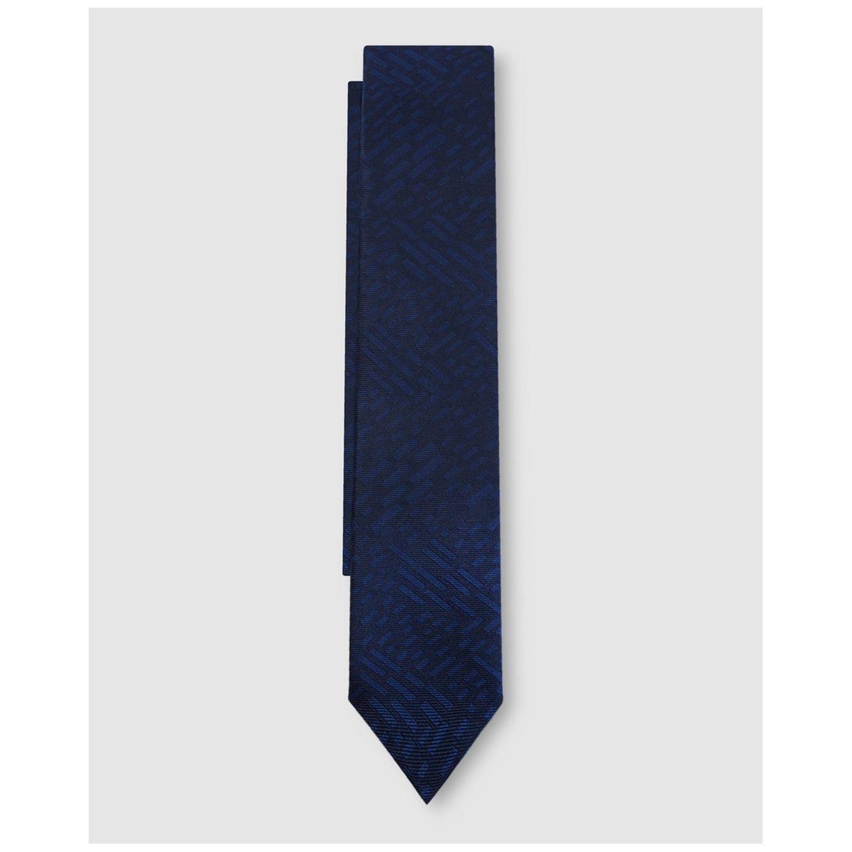 Cravate en soie imprimé fantaisie