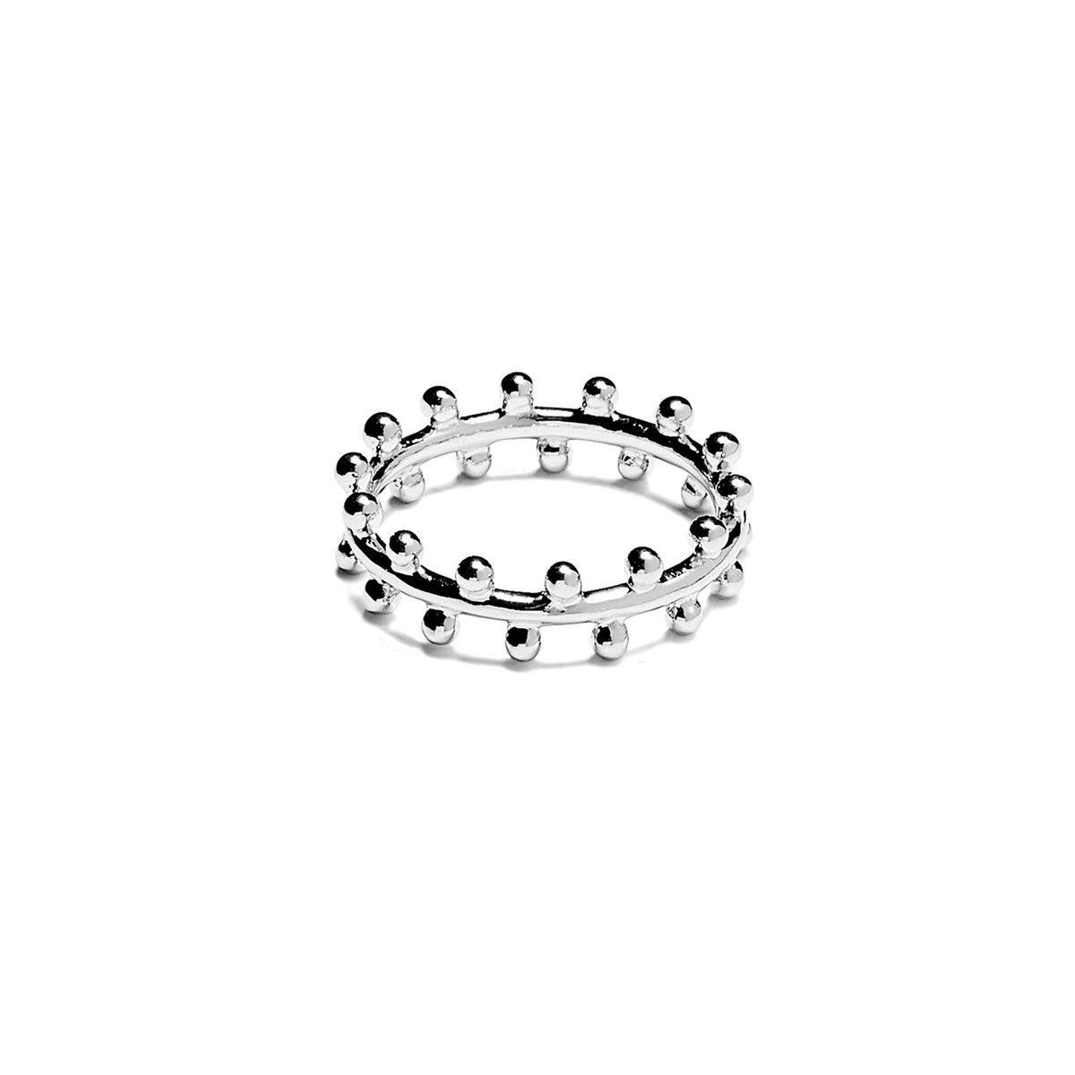 Bague en Argent Amulettes Perles