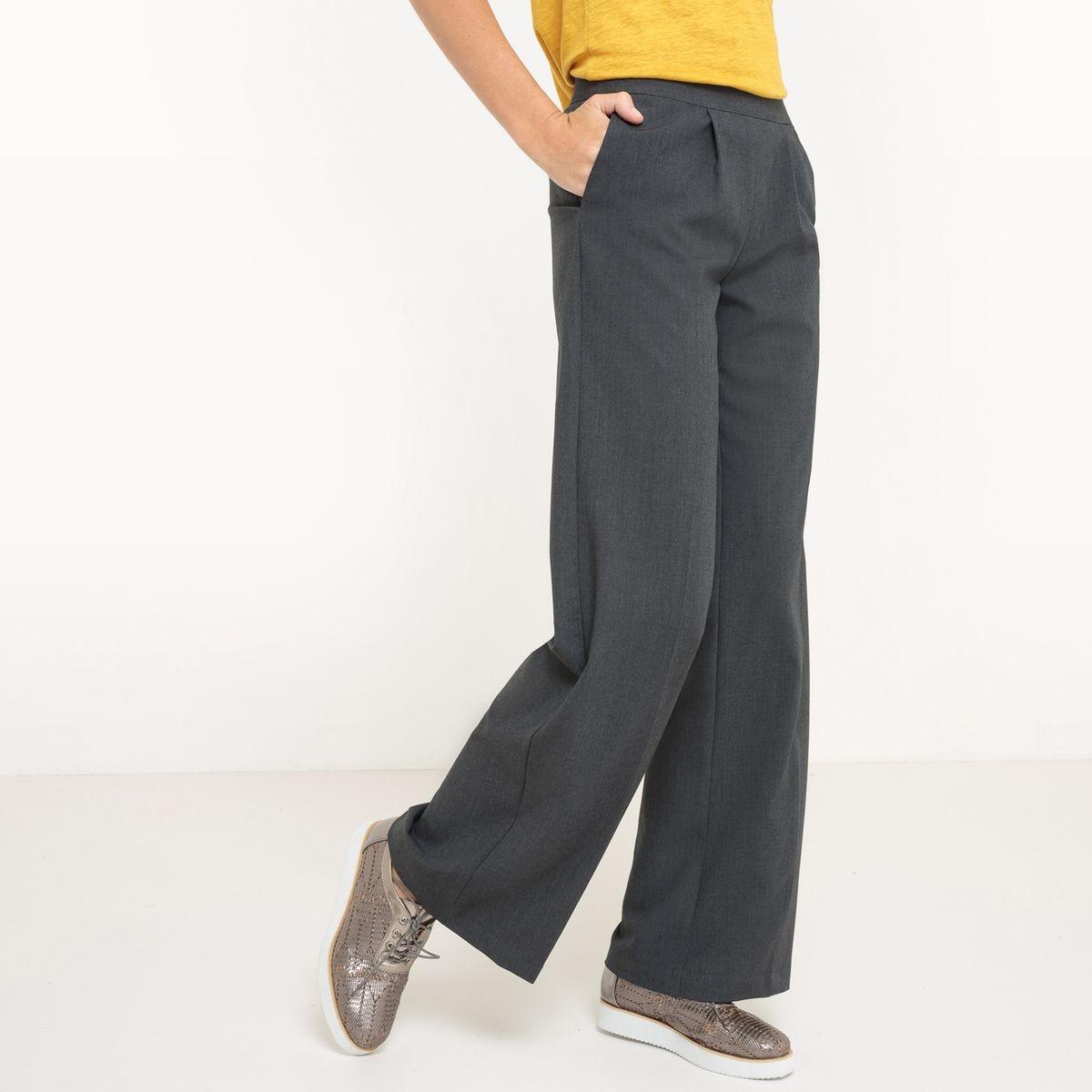 Pantalon large entrejambe 78 cm