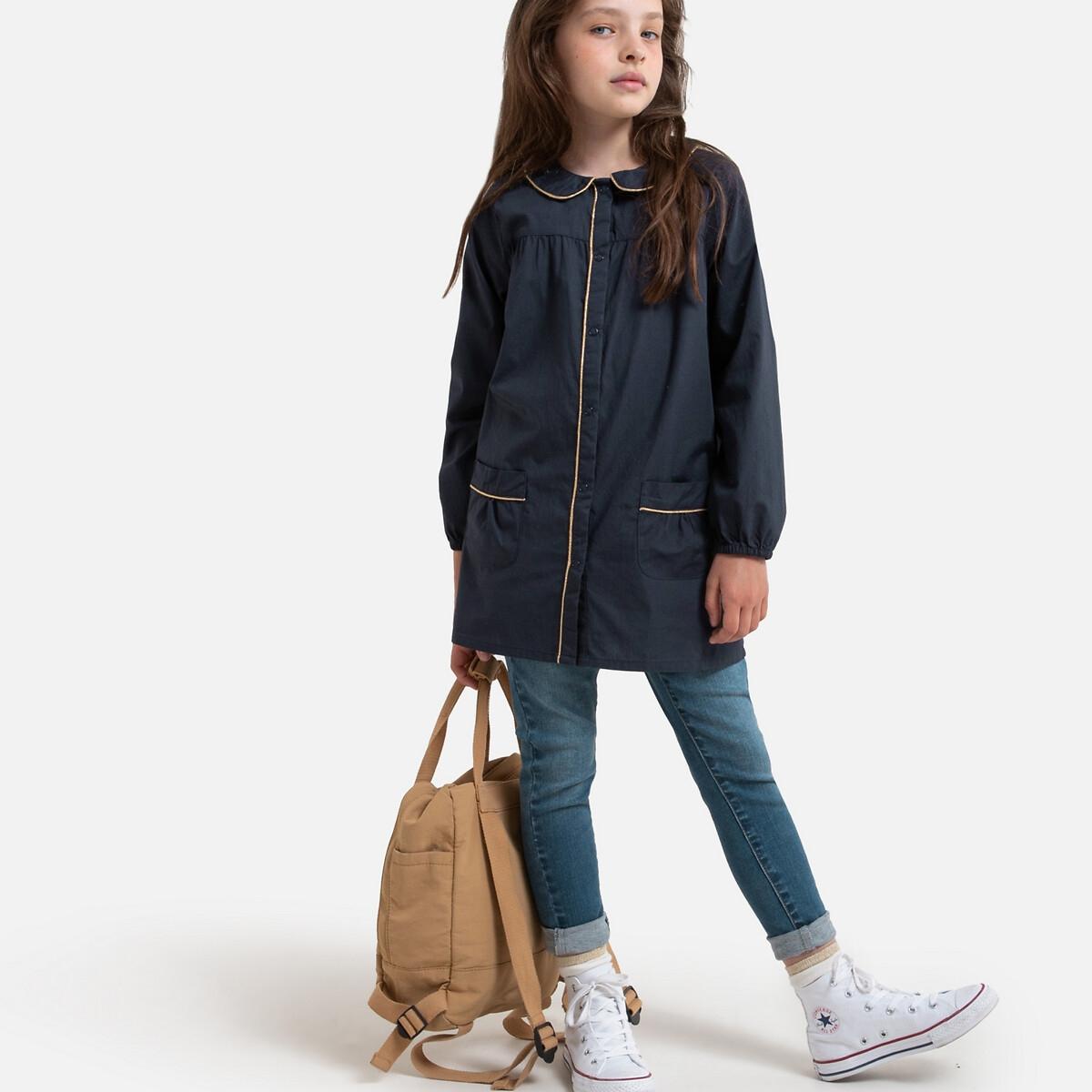 Фото - Блуза LaRedoute С длинными рукавами 3-12 лет 8 лет - 126 см синий рубашка laredoute джинсовая 3 12 лет 8 лет 126 см синий
