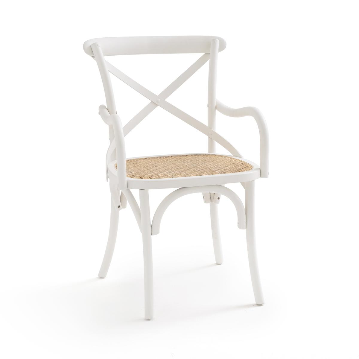 Кресло LaRedoute Cedak единый размер белый