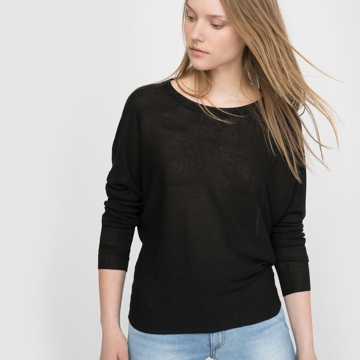 Пуловер с длинными рукавамиПуловер CHEAP MONDAY. Длинные рукава. Круглый вырез. Вырез на спине.Состав и описание     Материал     95% вискозы, 5% нейлона®     Марка    CHEAP MONDAY<br><br>Цвет: черный<br>Размер: S