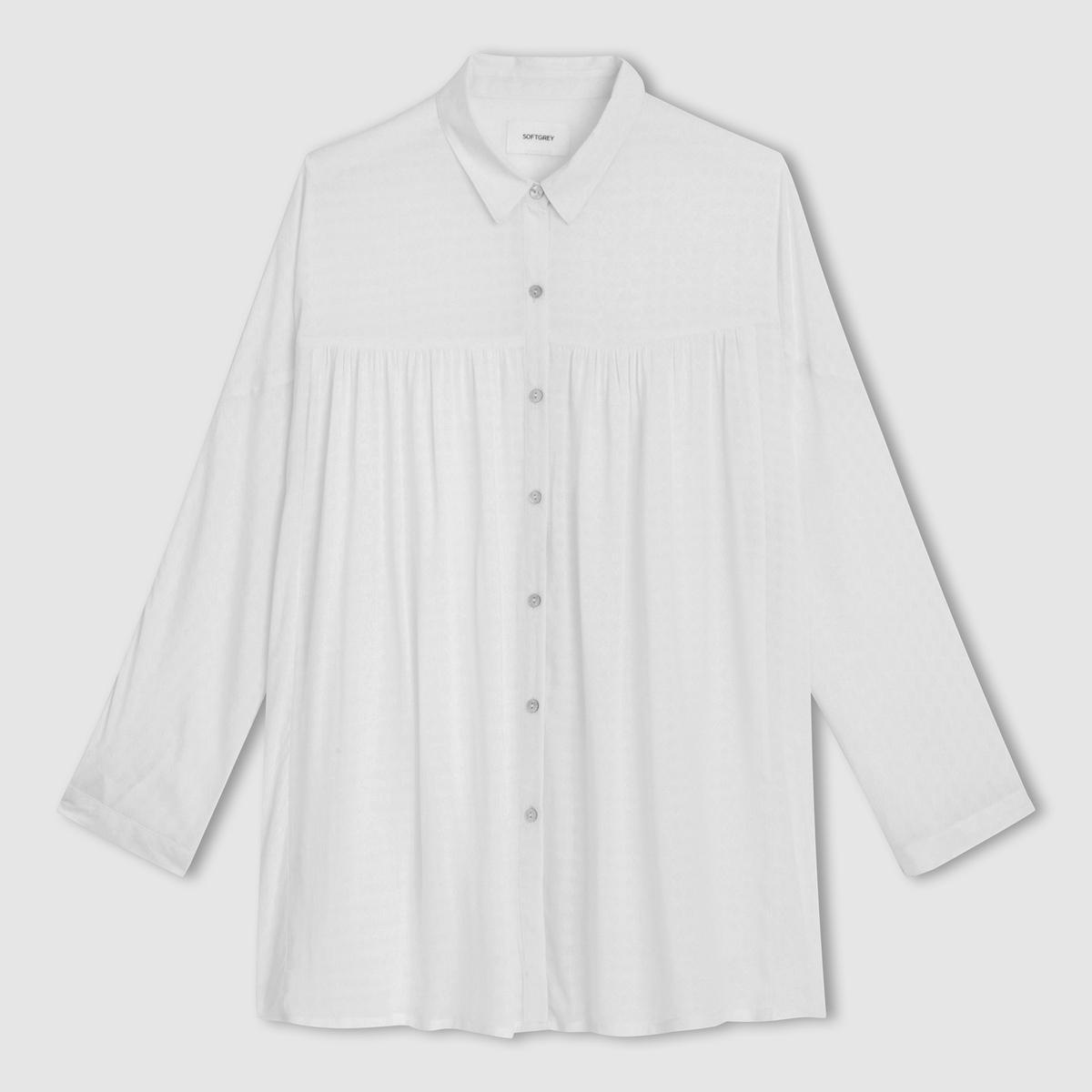 Camisa amplia de mangas estilo murciélago