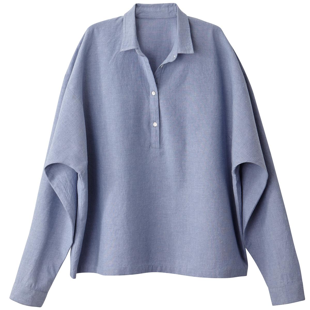 Блузка размера XL со свободными рукавами