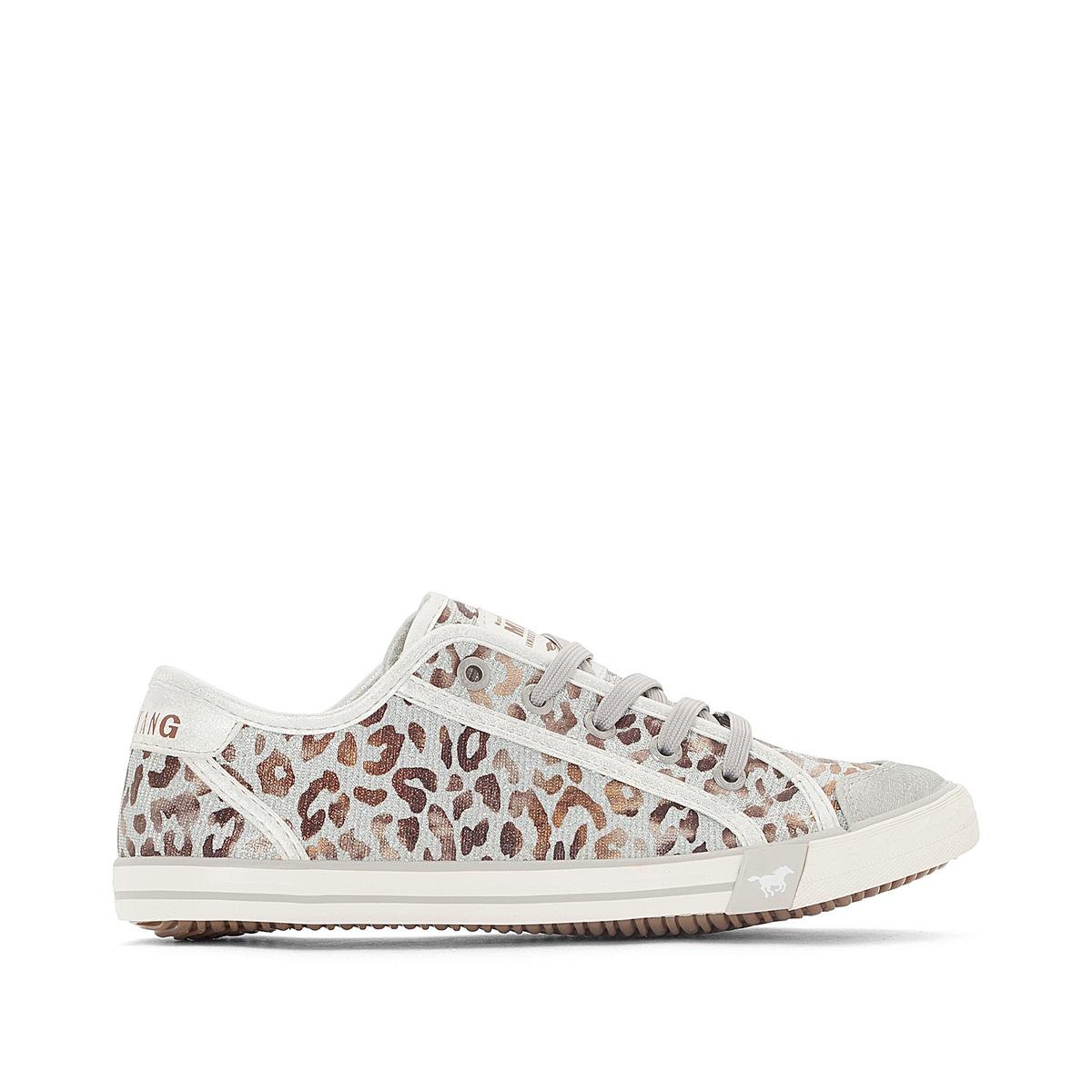 Кеды с леопардовым принтом 1099315 цены онлайн