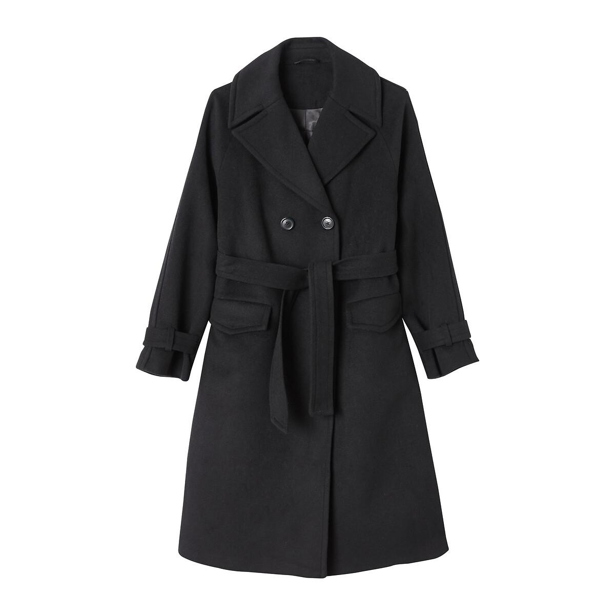 Manteau peignoir double boutonnage