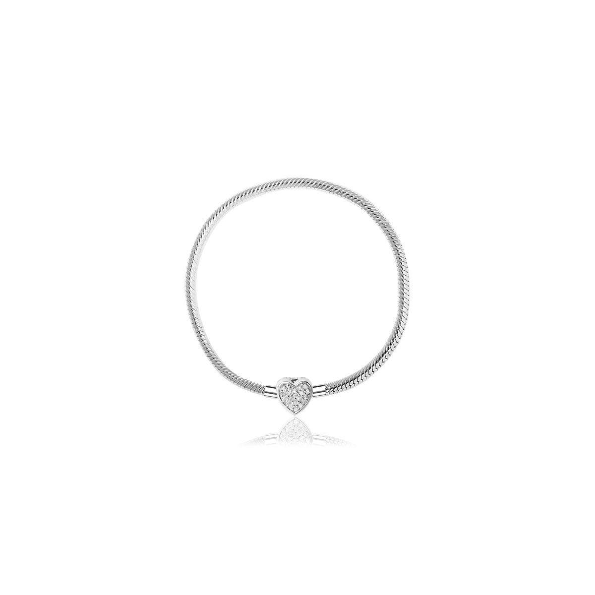 Bracelet argent 925 zirconias