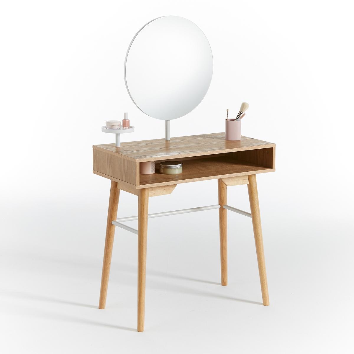 Столик La Redoute Туалетный AGURA единый размер каштановый туалетный la redoute столик clairoy единый размер каштановый