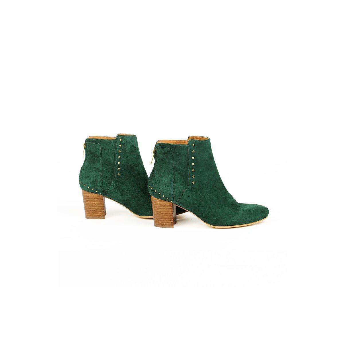 Boots Tijuana en cuir
