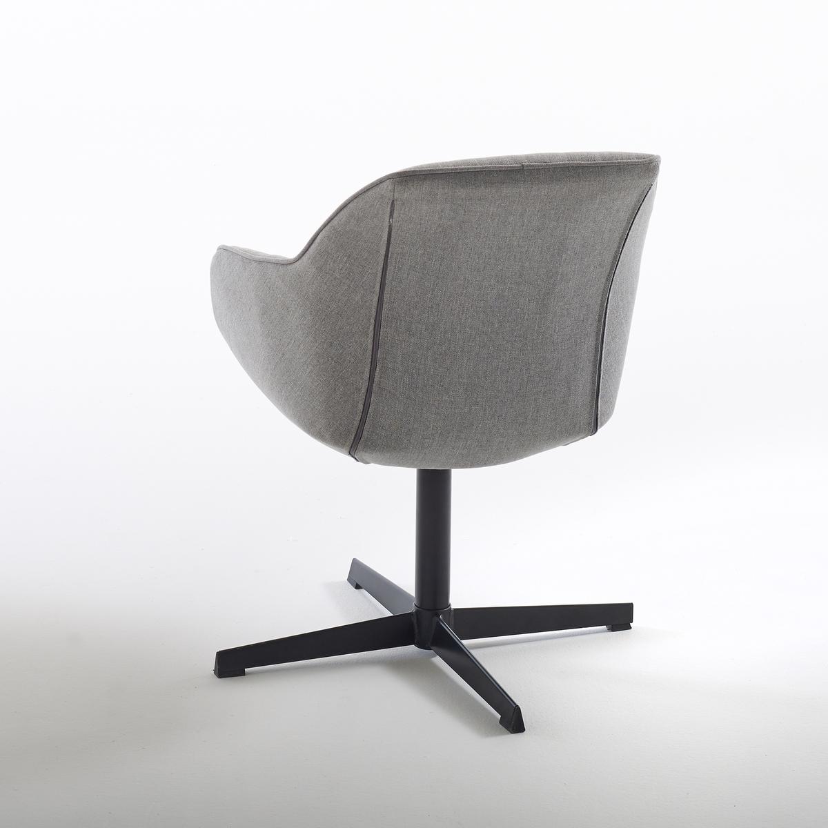 Кресло офисное поворотное NumaКресло офисное поворотное Numa. Эргономичная форма, мягкое сиденье и стёганая подкладка на спинке, благодаря этому Numa отвечают  высококлассному дизайну.Описание кресла офисного Numa :Поворотное сидение, не регулируется по высоте.Сиденье и спинка из 100% полиэстера.Прокладка пористая из полиуретана.Ножки с перекрестием из стали с эпоксидным покрытием чёрного цвета.Все стулья и кресла офисные Вы найдёте на сайте laredoute.ruРазмеры кресла офисного Numa :ОбщиеШирина : 64,5 смВысота : 79 смГлубина : 67,5 см.Сиденье : длина 41 x высота 45 x глубина 43,5 смНожки : высота 32 смОснование : ?64,5 смРазмеры и вес упаковки :1 упаковкадлина 62 x высота 53,5 x глубина 58,5 см11 кг.Доставка :Ваше кресло офисное поворотное Numa продаётся в сборе. Возможна доставка до квартиры !Внимание ! Убедитесь, что товар возможно доставить на дом, учитывая его габариты (проходит в двери, по лестницам, в лифты).<br><br>Цвет: светло-серый<br>Размер: единый размер