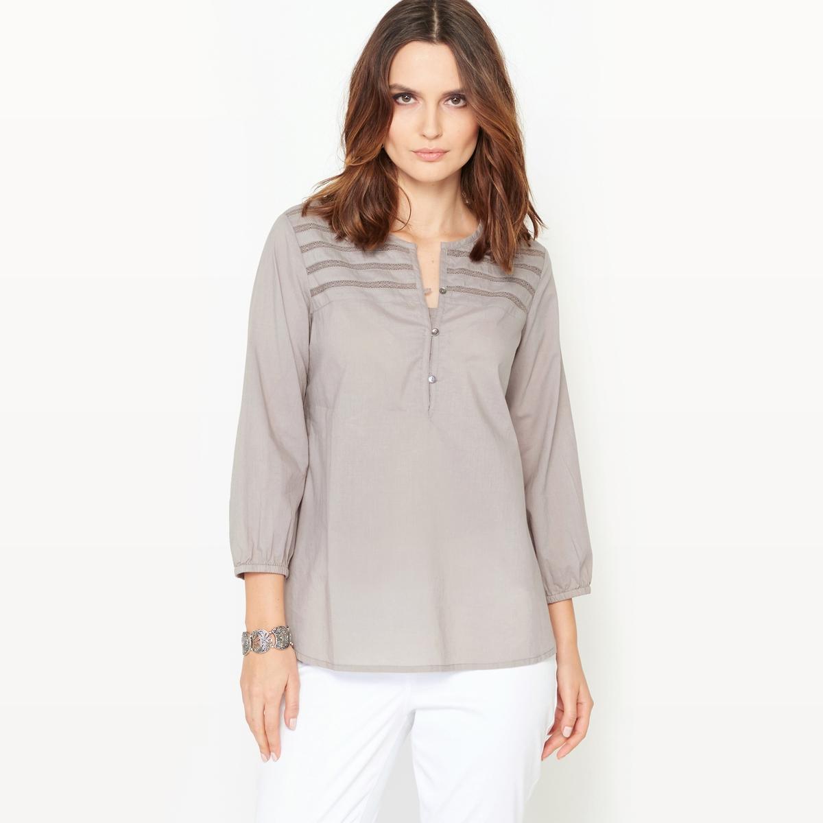 Блузка из хлопковой вуали, 100% хлопка от ANNE WEYBURN