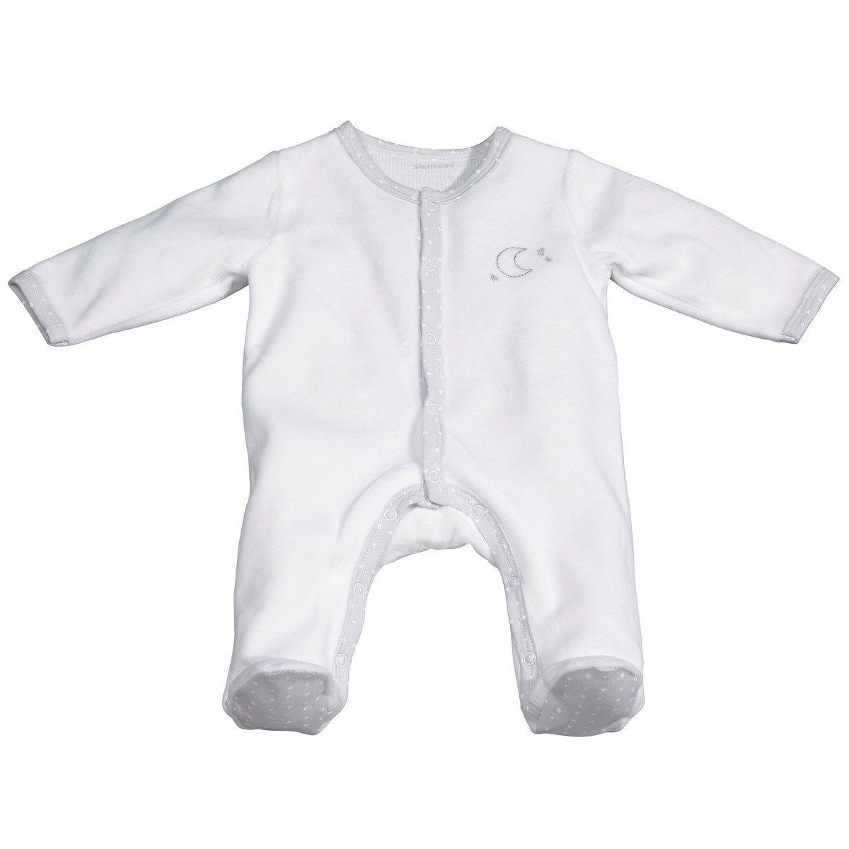 Pyjama bébé lune naissance Céleste