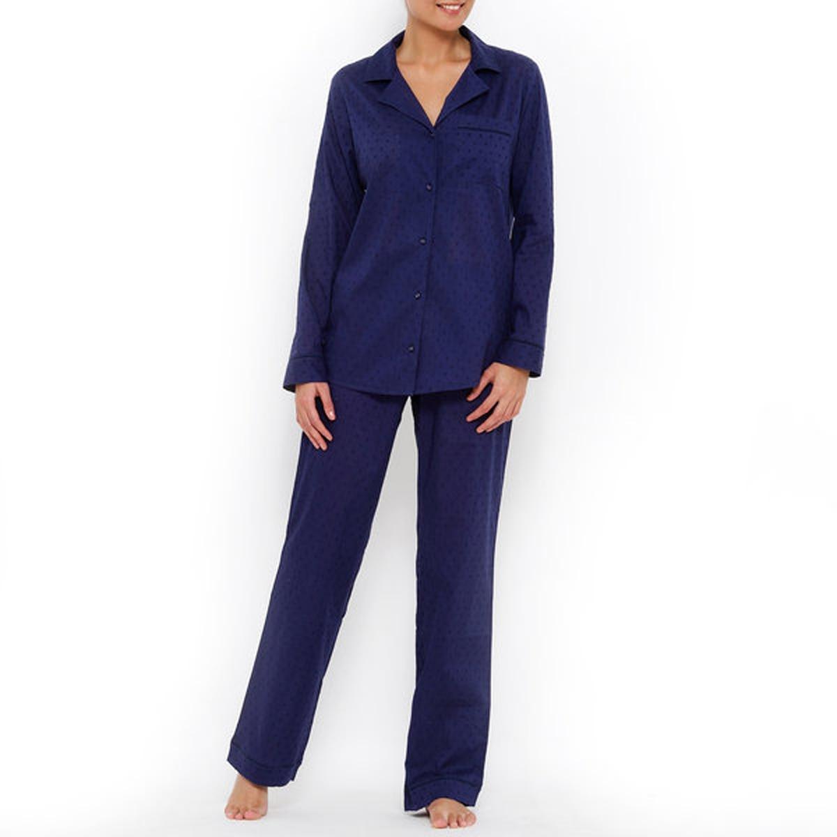 Пижама с вышивкой гладью