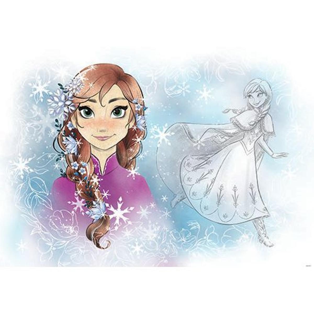 papier peint Disney La reine des neiges- 152.5 x 104 cm