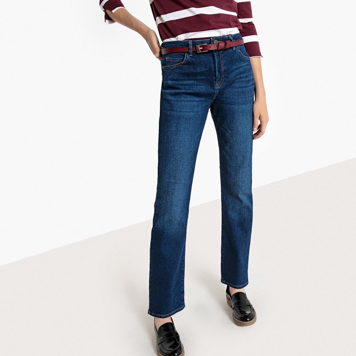 Джинсы прямые с 5 карманами, L32 джинсы flare l32