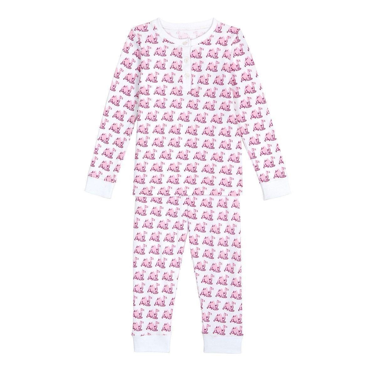 Pyjama fille en coton bio - imprimé Chameau