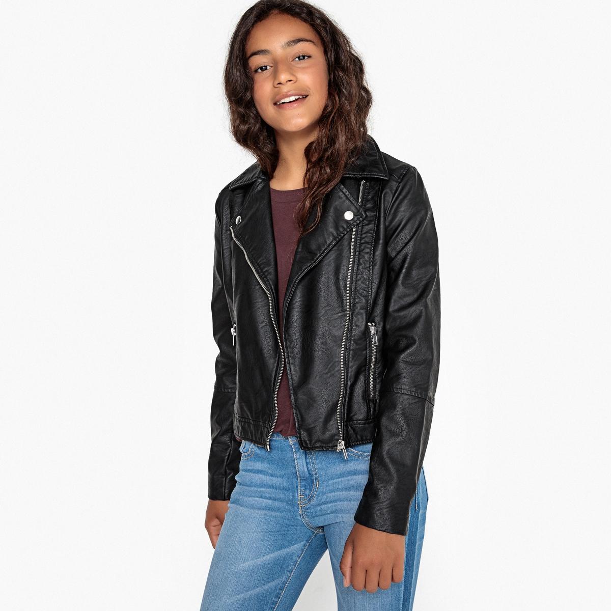Куртка в байкерском стиле, 10-16 лет джинсы jogger в байкерском стиле 10 16 лет