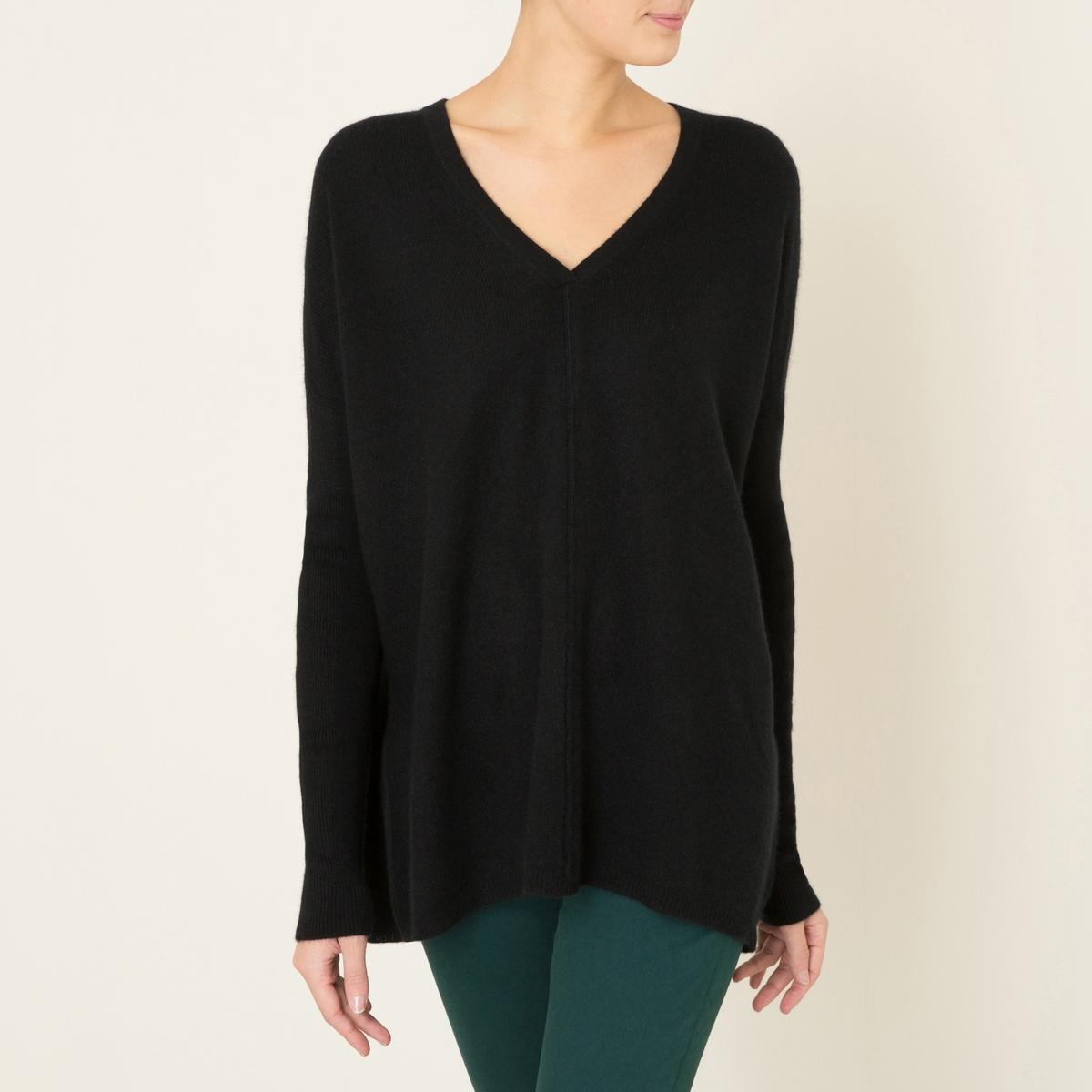 Пуловер FRED, 100% кашемирСостав и описание :                 Материал : 100% кашемир                  Марка : LA BRAND BOUTIQUE<br><br>Цвет: черный