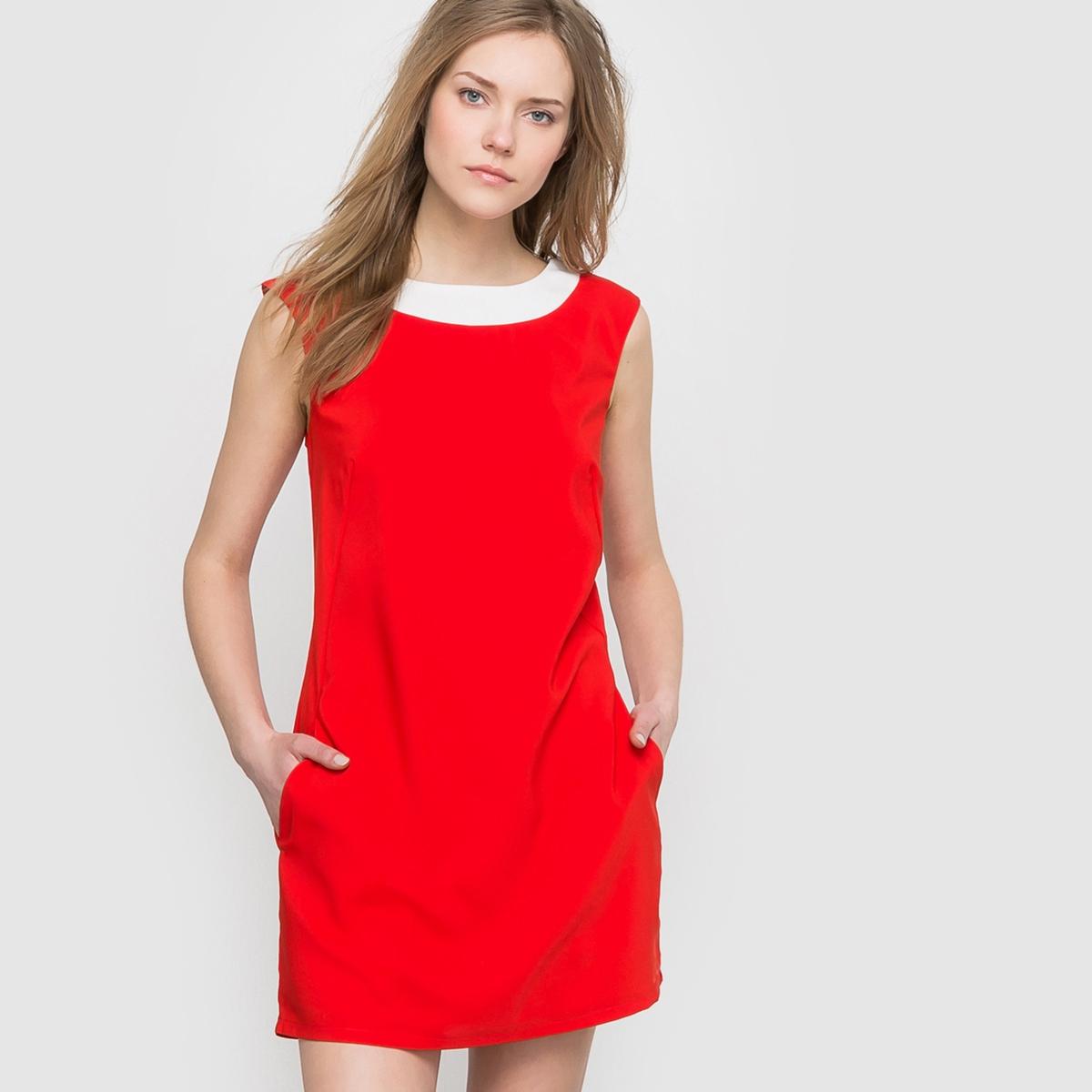 Платье с вырезом сзадиСостав и описаниеМарка: MOLLY BRACKEN.Материалы: 100% полиэстер.УходМожно стирать в машине при 30° С в режиме для деликатных тканей.Гладить на низкой температуре.Машинная сушка запрещена.<br><br>Цвет: красный<br>Размер: S