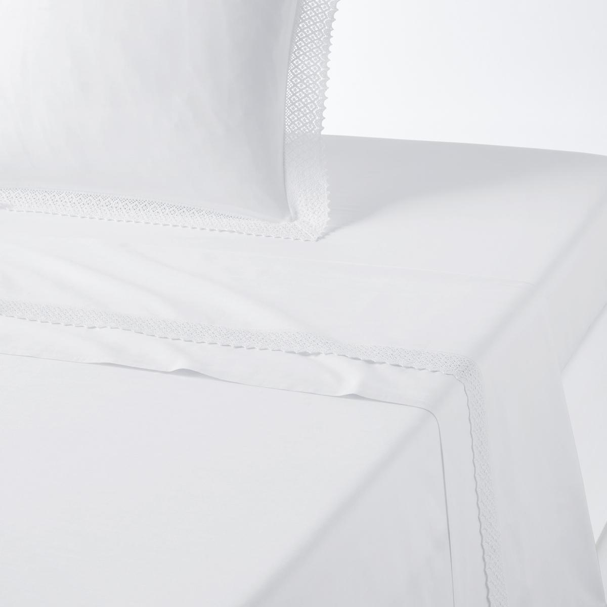 Простыня La Redoute DENTELLE 180 x 290 см белый простыня la redoute dentelle 180 x 290 см белый