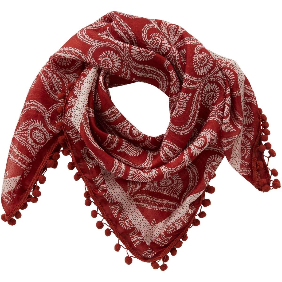 Foulard fantaisie en soie
