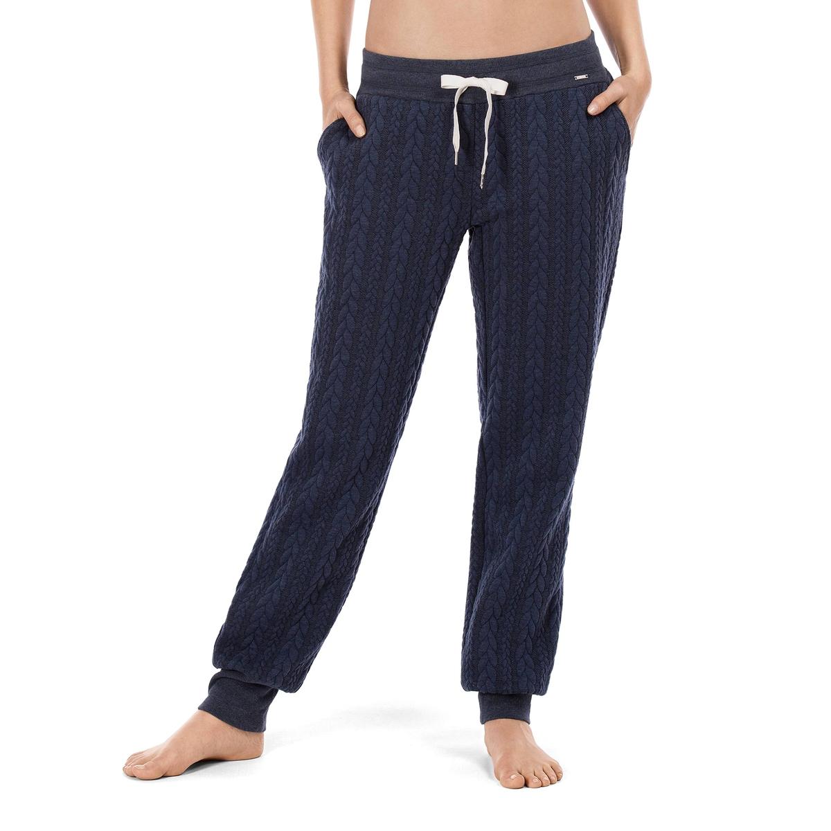 Брюки пижамные LougewearСостав и детали :Материал : 100% полиэстер Марка : SkinnyУход :Ручная стирка при 30°.Машинная сушка запрещена.Не гладить.<br><br>Цвет: темно-синий