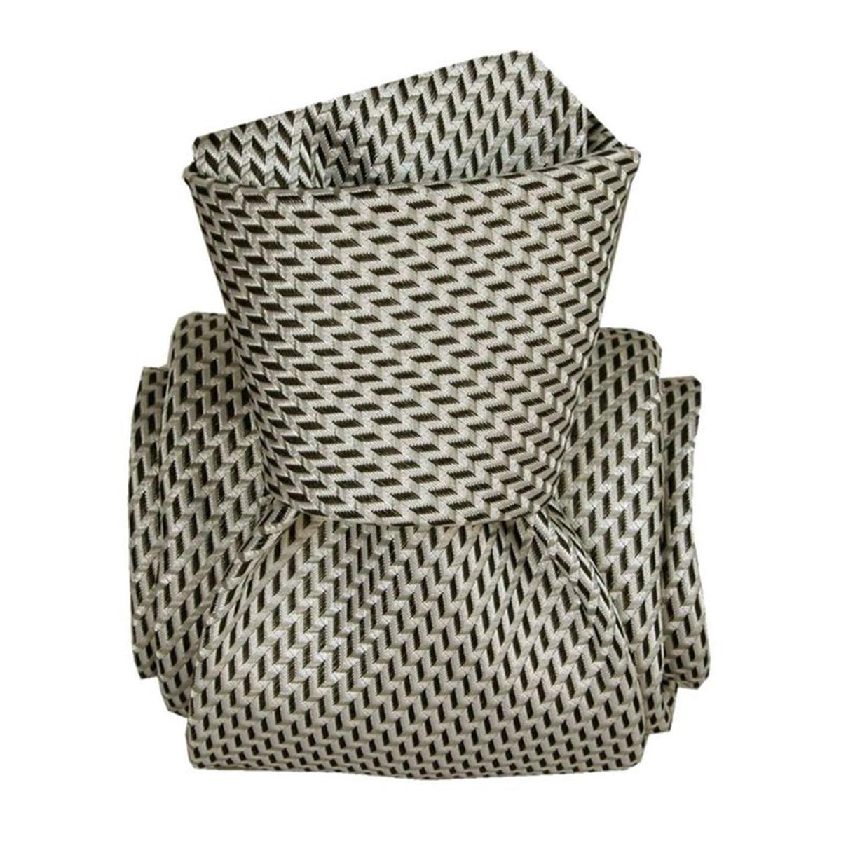 Cravate artisanale  en soie  BARCELONE