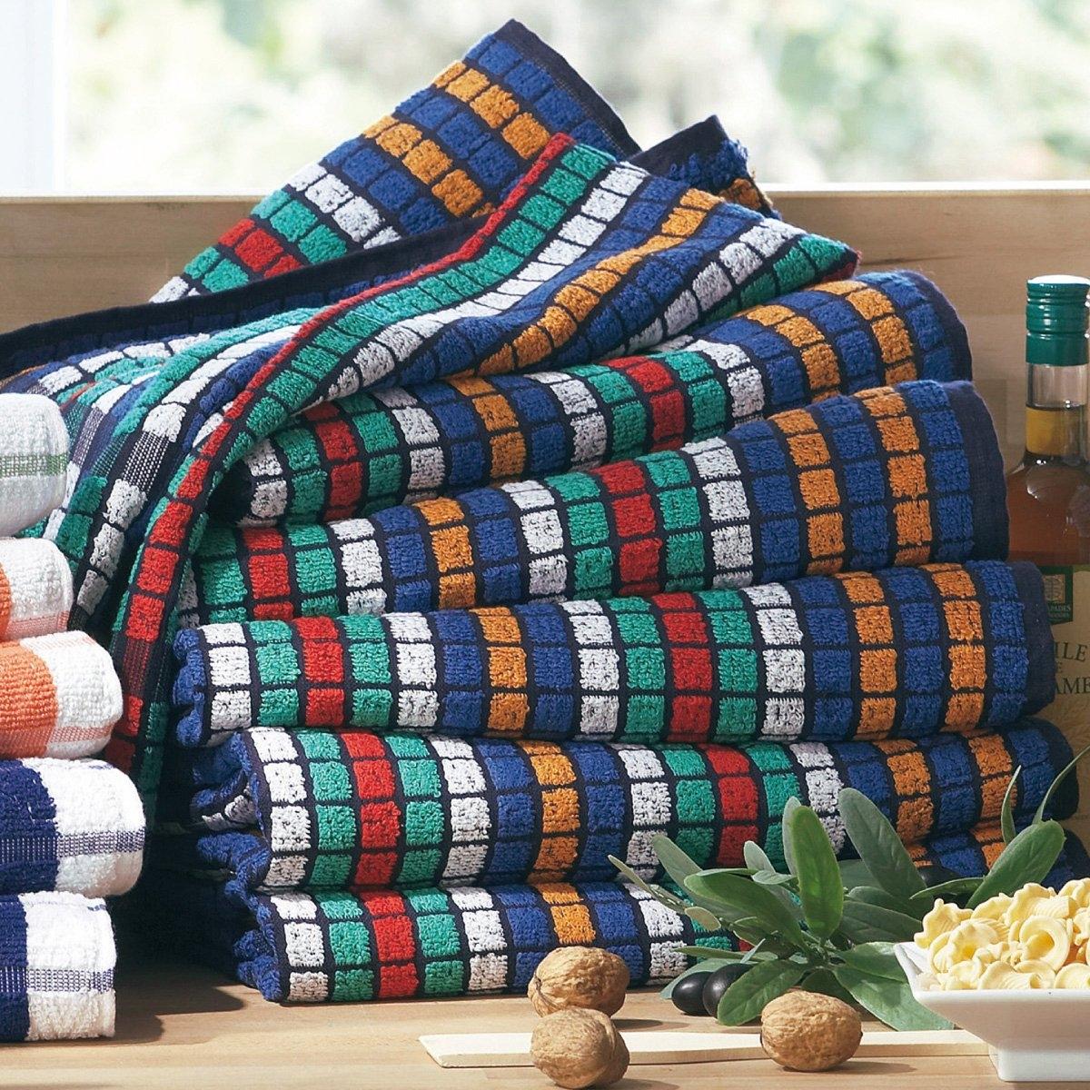 Asciugamani spugna, confezione da 6