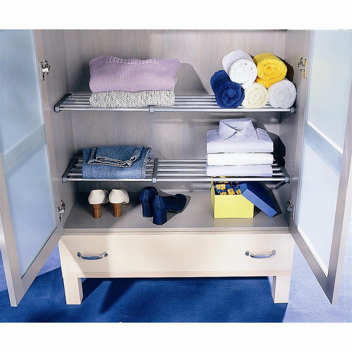 Этажерка раздвижная для стенного или встроенного шкафа , Areglo
