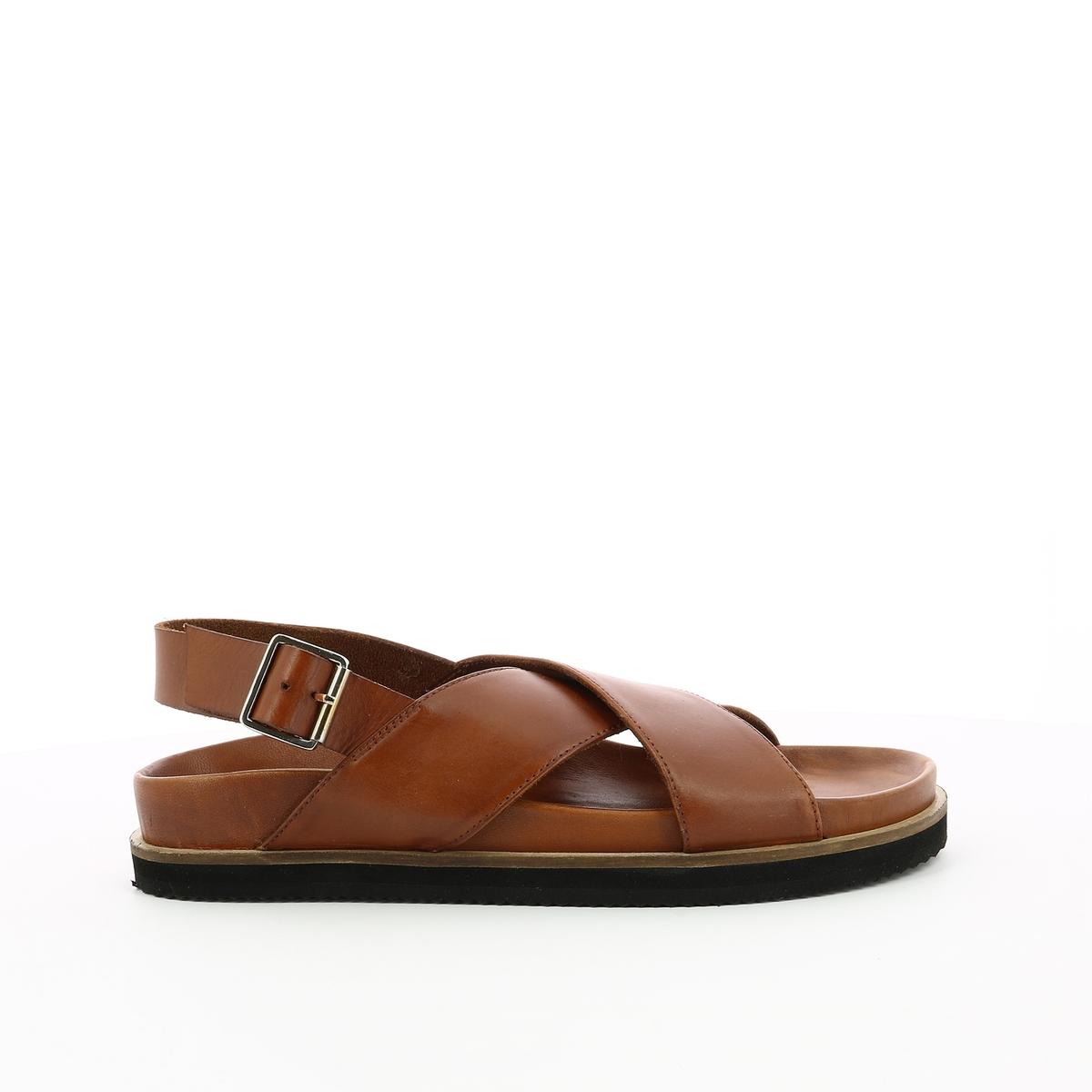 Босоножки кожаные Sandross цены онлайн