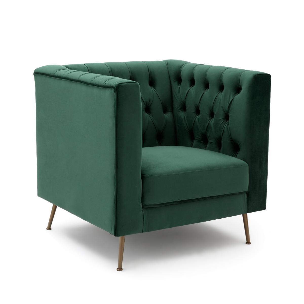 Кресло с внутренней обивкой из велюра, PANONE