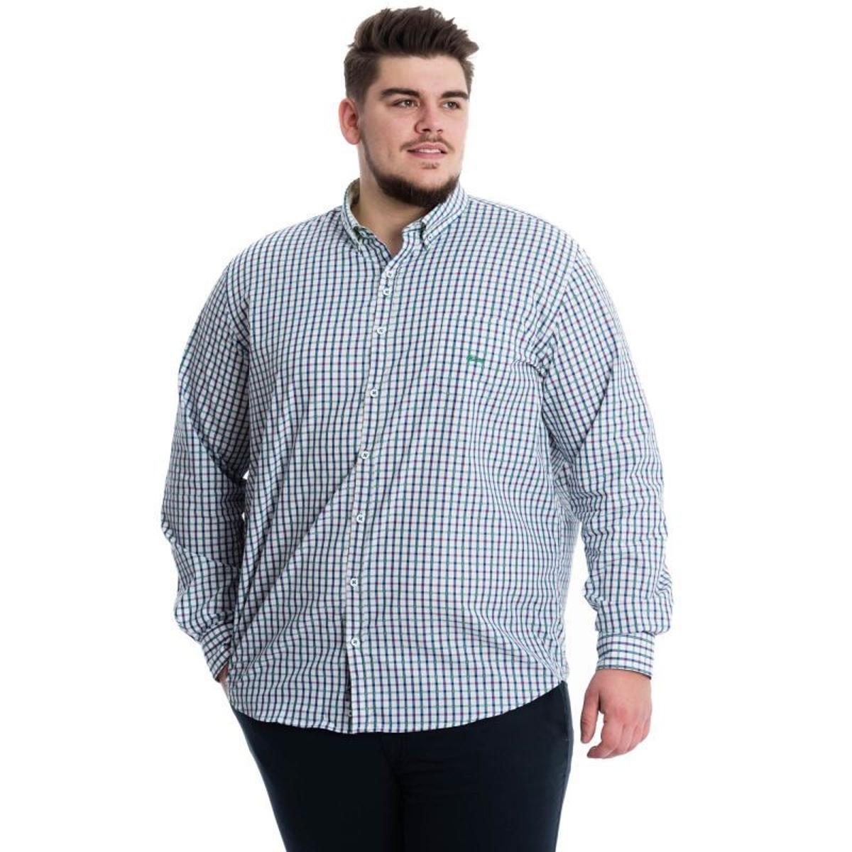 Chemise à Carreaux en Coton