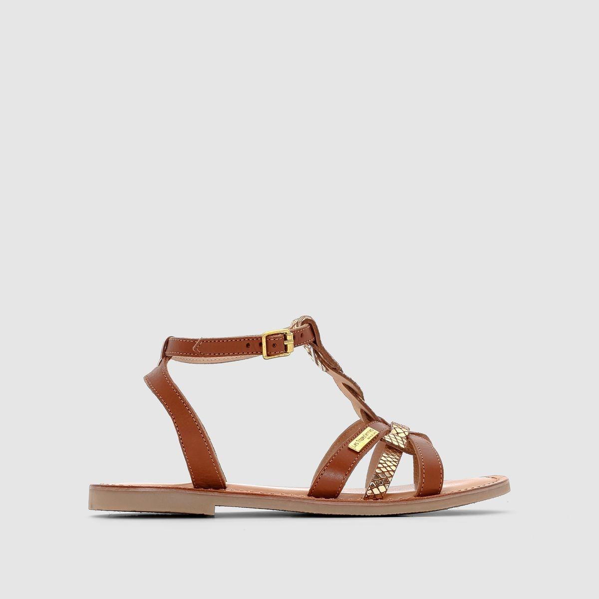 Sandales cuir fille
